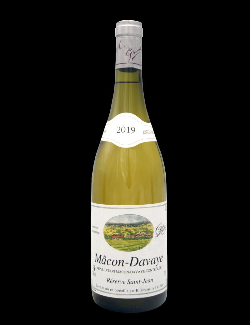 Mâcon-Davayé - Cuvée Saint Jean - AOP - 2019