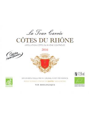 Côtes du Rhône - La Tour Carrée - AOP - 2016