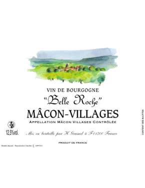 Mâcon-Villages - Belle Roche  - AOP - 2017