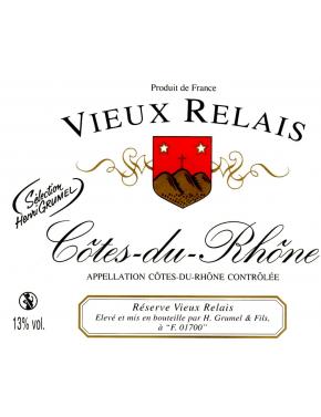 Côtes Du Rhône - Vieux Relais - AOP