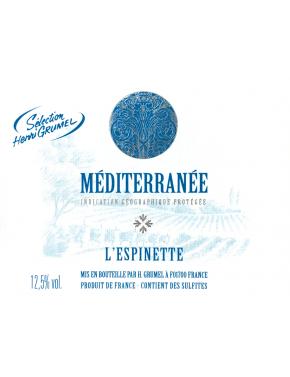 Méditerranée - L'Espinette - IGP
