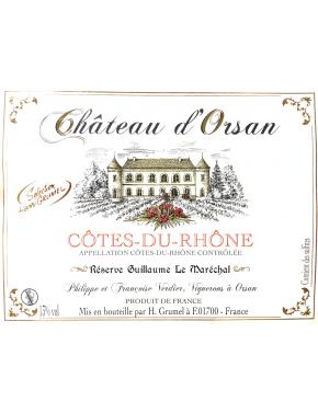 Côtes du Rhône - Château d'Orsan - AOP - 2014