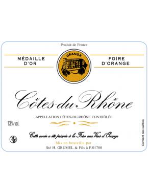 Côtes du Rhône - Médaille d'Or - AOP - 2015
