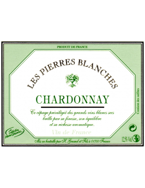Chardonnay - Les Pierres Blanches - VF